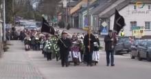 Puńsk i Sejneńszczyzna pożegnały Romualda Witkowskiego [wideo]
