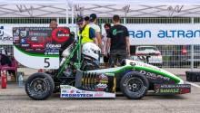 Bolid  Politechniki Białostockiej szósty w wyścigach Formula Student Italy [zdjęcia]
