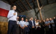 Premier Mateusz Morawiecki spotkał się z rolnikami. Przedstawił plan dla wsi