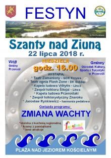 Festyn Szanty nad Ziuną w Przerośli