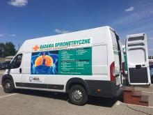 Spirobus Fundacji NEUCA dla Zdrowia przyjedzie do Suwałk.  Akcja bezpłatnych badań płuc