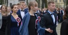 Zespół Szkół Technicznych w Suwałkach. Polonez, hołd i hymn dla Niepodległej [wideo i zdjęcia]