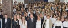 9.11 godz. 11.11. II i III LO w Suwałkach wśród uczestników Rekordu dla Niepodległej [wideo  i foto]