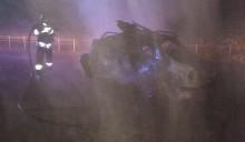 Tragiczny wypadek na obwodnicy Augustowa. Pod Raczkami zderzyły się cztery samochody