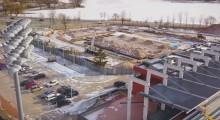 Hala widowiskowo-sportowa Suwałki Arena - to będzie gigant. Polatamy, nim pogramy [wideo]