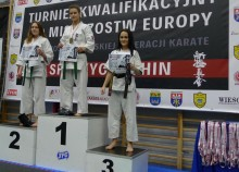 Karate shinkyokushin. Aleksandra Mozerys ze złotem i srebrem, a Aleksandra Rybacka ze srebrem MP