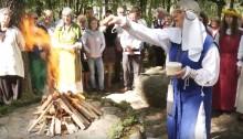Oszkinie. Jaćwieskie Święto Wiosny i Dni Rzemiosła Jaćwieskiego [wideo]