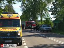 Wypadek w Bakaniuku. Jedna osoba ranna