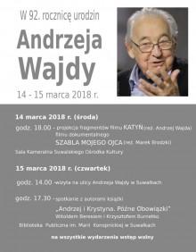 Dwa dni z Andrzejem Wajdą. SOK zaprasza