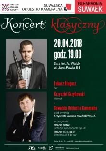 Filharmonia Suwałk. Wirtuozi klarnetu i fletu