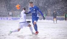 Wigry Suwałki po 0:2 w Legnicy nadal 7. w tabeli. Dominik Nowak: To nie miało nic wspólnego z piłką