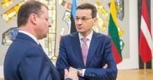 Mateusz Morawiecki w Wilnie. Polsko - litewska komisja ds. oświaty, zwrot ziemi, Via i Rail Baltica