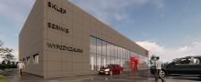 Firma Majster. W Suwałkach buduje się nowe Centrum Narzędziowe [wizualizacje, wideo]