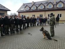 Gołdap, Dubeninki. Spotkania uczniów z funkcjonariuszami Straży Granicznej [foto]