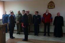 Nowy zastępca komendanta suwalskiej straży pożarnej [zdjęcia]