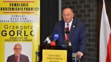 Leszek Lewoc i Grzegorz Gorlo z poparciem Kornela Morawieckiego. Dla nich to bardzo ważne