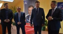 Grzegorz Mackiewicz, kandydat Prawa i Sprawiedliwości cieszy się poparciem  Solidarności