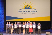 TOP Pracodawcy Polski Wschodniej. Wśród uhonorowanych Danwood, Track Tec i PGE Dystrybucja