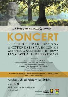 Koncert Suwalskiego Chóru Kameralnego VIVA MUSICA