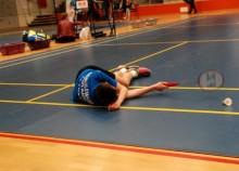Badminton. 3MAJ się  Michał