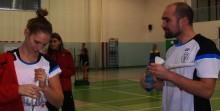 Ekstraklasa badmintona. Hubal na kolanach, Technik odprawiony z kwitkiem