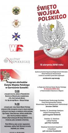 Święto Wojska Polskiego w Wigrach
