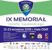 Siatkarski Memoriał Józefa Gajewskiego w najsilniejszej obsadzie