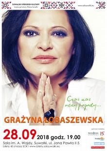 Koncert Grażyny Łobaszewskiej w Suwałkach