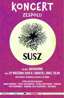 Koncert zespołu SUSZ w Rozmarino