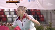 Badminton. Złoto Kamili Augustyn, srebro debla Przemysław Wacha/Michał Łogosz