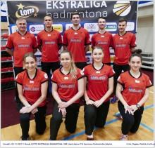 Dwa zwyciestwa SKB Litpol-Malow na inaugurację ekstraligi badmintona.