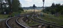 Wykolejenie pociągu na trasie Suwałki-Augustów. Z torów wypadło 15 wagonów