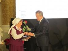 Anna Andruszkiewicz z Wiżajn z Nagrodą Kolberga [zdjęcia]