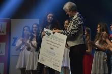 Cynthia Zietara z nagrodą Grand Prix tegorocznych Muszelek Wigier [wideo, zdjęcia]