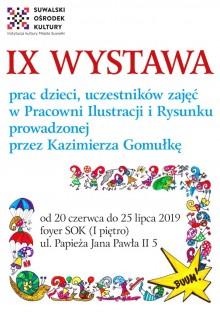 Wystawa dzieł młodych artystów w SOK
