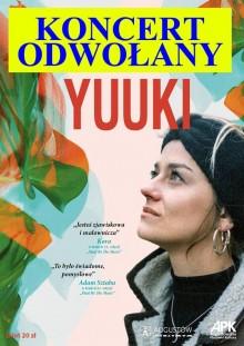 Koncert Yuuki w Augustowie ODWOŁANY