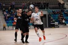 II liga. Browar Północny Futsal Team Suwałki - MOSiR Grajewo 2:2. Oprawa i miejsce godne ekstraklasy