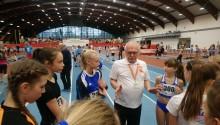 Lekkoatletyka. Uczennice Szkoły Podstawowej nr 11 opanowały podium halowych mistrzostw Polski [foto]