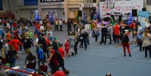 Spartakiada Dzieci i Młodzieży Niepełnosprawnej. Mikołaj rozdał pół tysiąca paczek [zdjęcia]