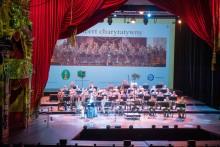 Orkiestra Reprezentacyjna Straży Granicznej zagrała dla chorych dzieci [zdjęcia]