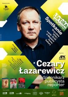 Cezary Łazarewicz spotka się z czytelnikami w Augustowie!