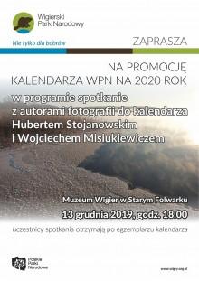 Promocja kalendarza 2020 w Muzeum Wigier