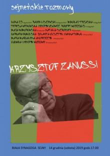 Krzysztof Zanussi w Białej Synagodze w Sejnach