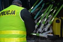 Hulajnogi skradzione w Austrii jeździły po Suwałkach