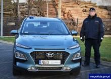 Nowy radiowóz w gołdapskiej Komendzie Policji