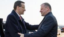 Premier Mateusz Morawiecki na Litwie. Strategiczni partnerzy