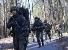 Terytorialsi z Suwałk na Litwie. Zawody użyteczno-bojowe [zdjęcia]