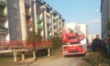 Cztery zastępy straży, karetka i policja. Garnek na kuchence i dym przy Lityńskiego