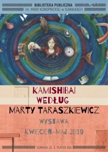 Wystawa Kamishibai Marty Taraszkiewicz w Bibliotece Publicznej w Suwałkach
