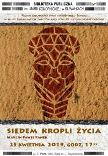 Siedem kropli życia Marcina Panka w Bibliotece Publicznej w Suwałkach